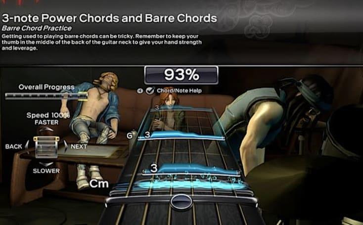 Rock Band 3 Pro guitar preview: the guitarist vs. the guitar hero