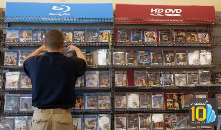 Format Wars: Blu-ray vs. HD DVD