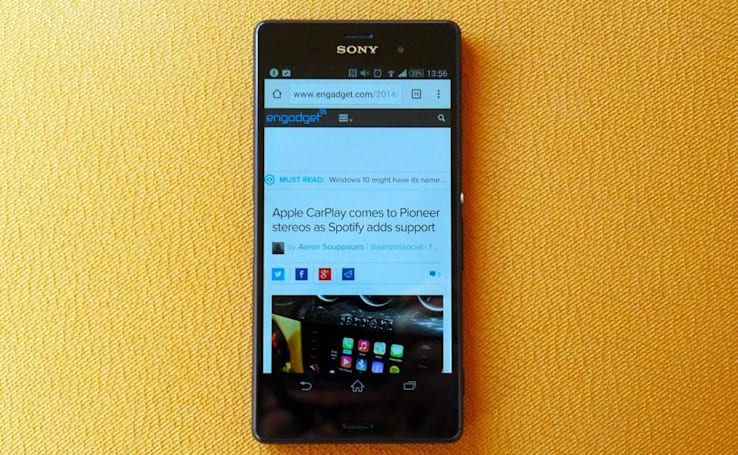 Sony is testing a 'stripped back' version of Android