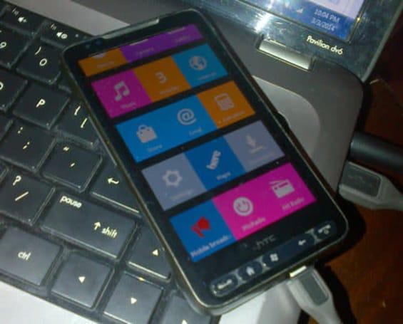 Weathered old HTC HD2 dresses up like a Nokia X