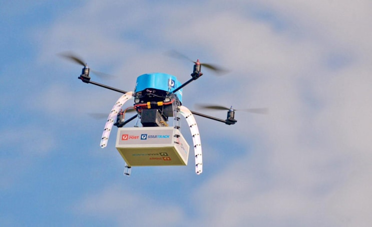Australia tests mail delivery drones