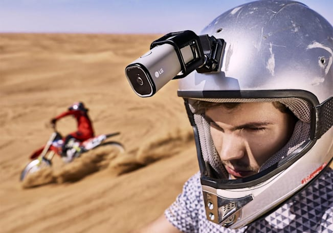 LG's GoPro rival can stream direct to YouTube