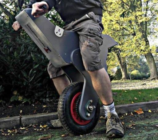 Homemade self-balancing unicycle uses an Arduino to keep upright