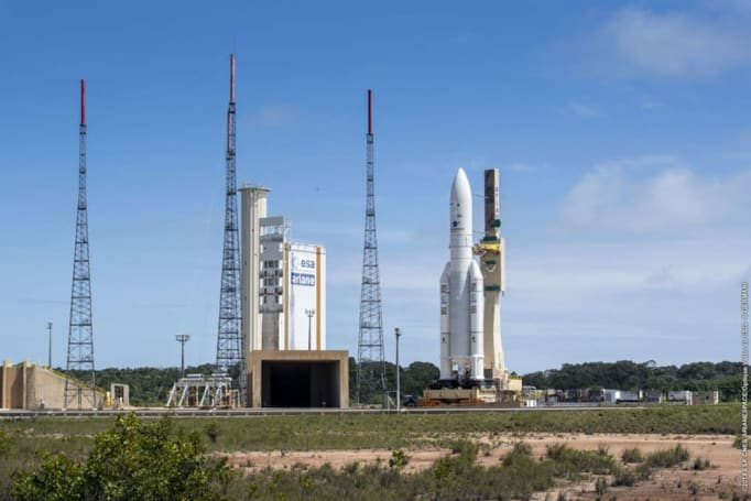 Ariane 5 ferried NASA instrument to orbit despite launch scare