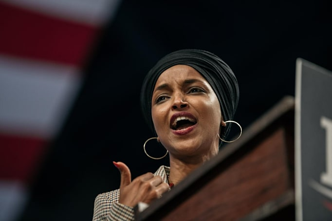 Twitter bans House candidate who suggested Ilhan Omar should be hanged