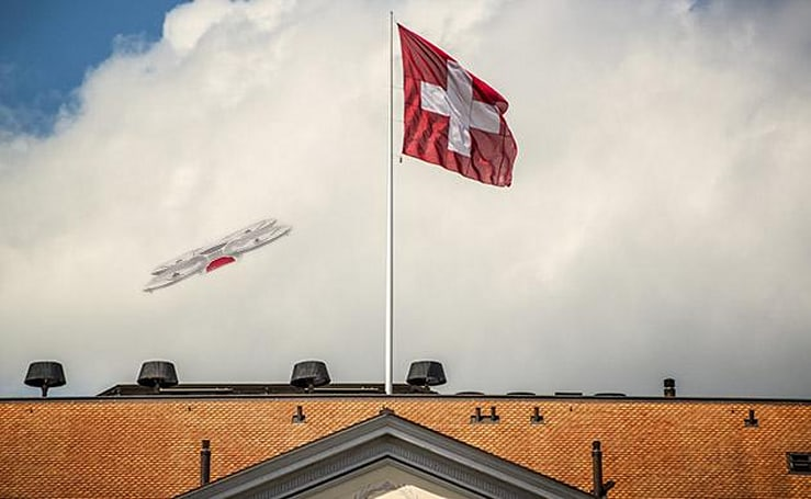 Drones will deliver mail in Switzerland this summer