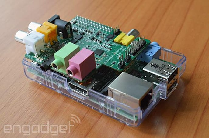 Raspberry Pi gets its own sound card