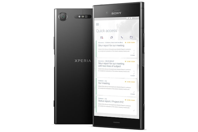 Sikur launches high-security phones based on Sony hardware