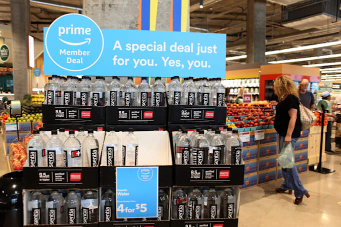 Amazon expands Prime discounts to all Whole Foods stores this week