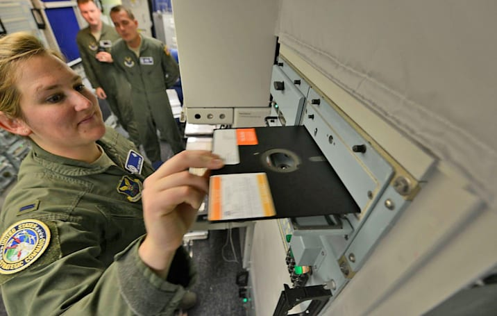 US military will no longer use floppy disks to coordinate nuke launches