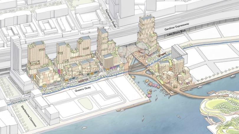 Sidewalk Labs reveals site plan for smart neighborhood in Toronto