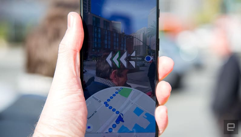 Google Maps is making 'Live View' AR navigation more prominent