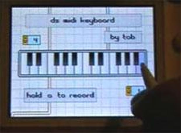 Make MIDI music with DS, wirelessly