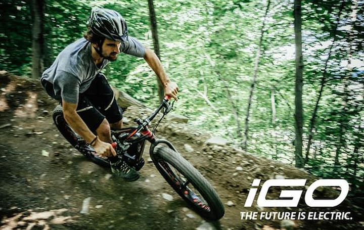 iGo's electric Fatbike takes the grunt-work out of climbing