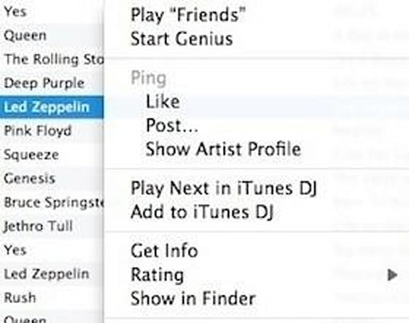 iTunes 101: Making the most of contextual menus