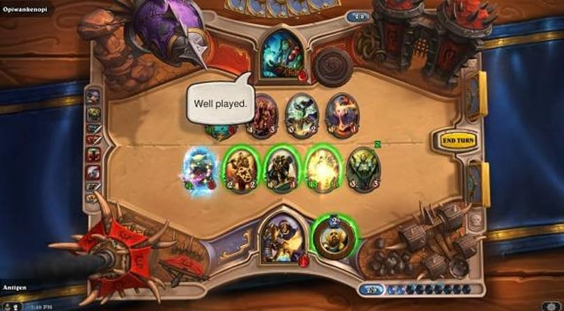 Step into the Hearthstone Arena