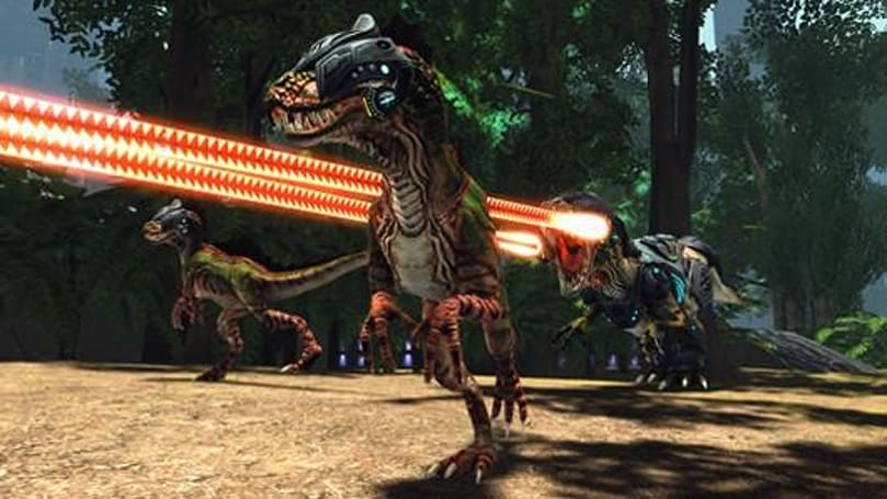 Latest Star Trek Online dev blog talks dinosaurs, Voth technology