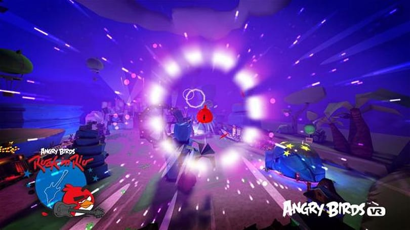 'Angry Birds VR' puts the infamous fowl on your face