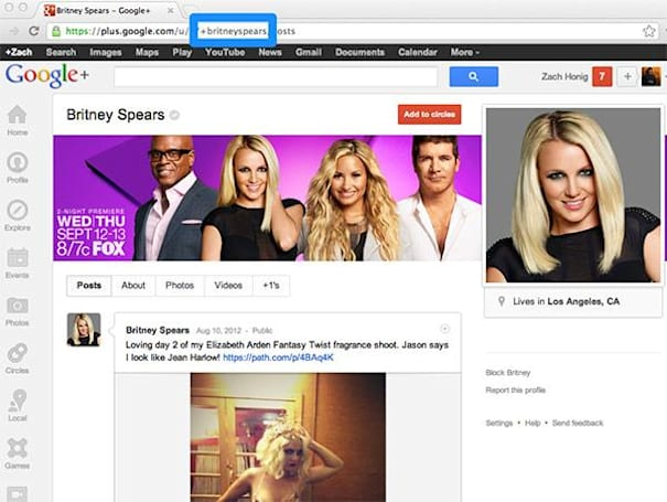 Google+ offers custom URLs for verified accounts, other profiles to come 'over time'
