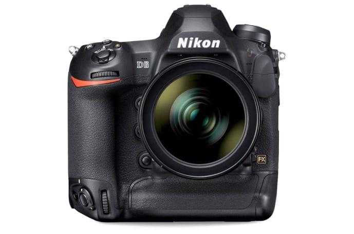Nikon's D6 flagship DSLR camera arrives in April for $6,500