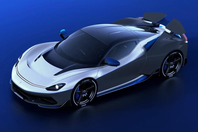 Pininfarina debuts ultra-rare $2.9 million version of its electric hypercar
