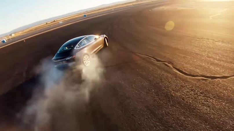 Tesla's Model 3 gets quicker cornering with 'Track Mode'