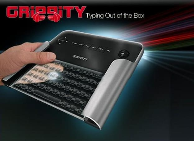 Grippity 1 back-typing keyboard finally up for pre-order, asks for $60 and your patience