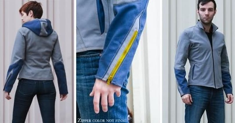 You'll need to Rush if you want to Roll with this Mega Man jacket