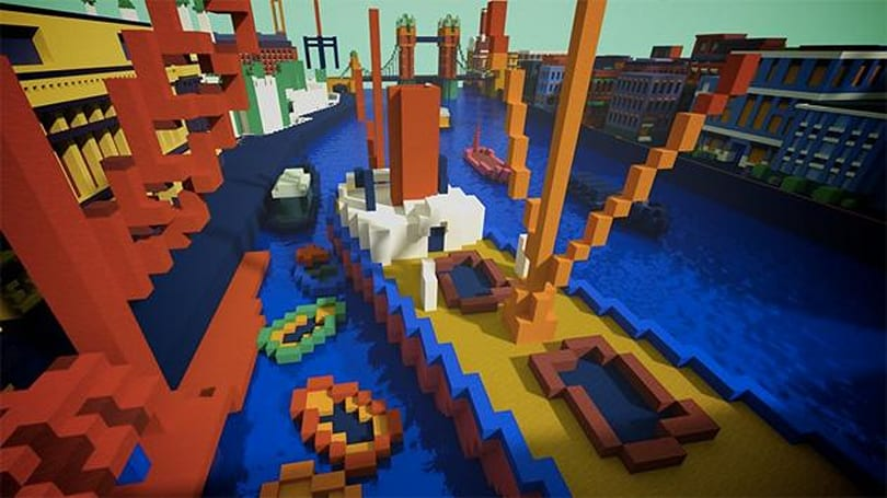 ​Tate museum reimagines works of art as Minecraft maps