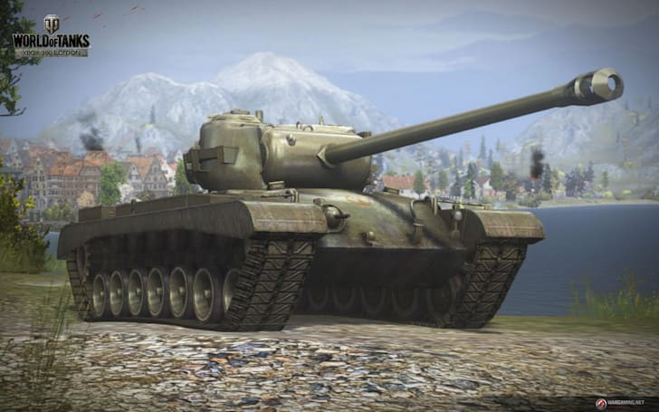 A glimpse of World of Tanks on the Xbox 360