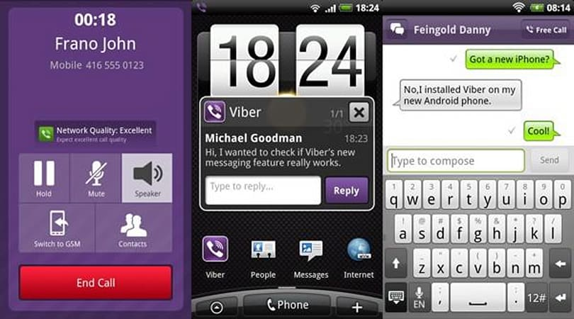 Viber's free, no-registration 3G VoIP app officially launches on Android