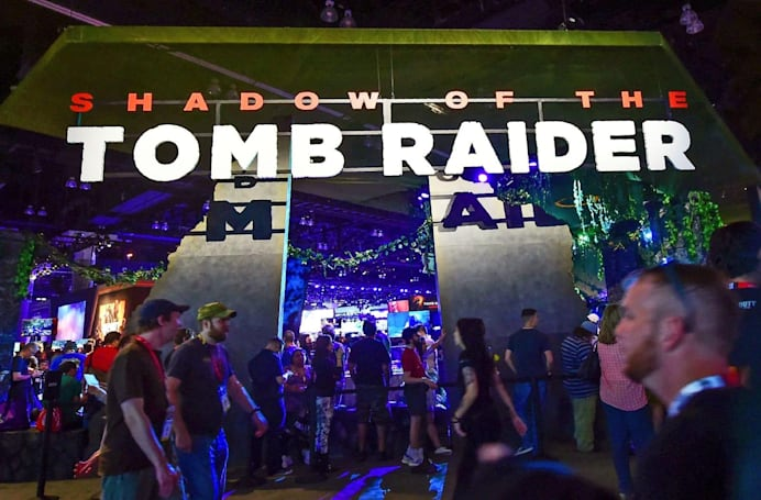 You can try out 'Shadow of the Tomb Raider' for free