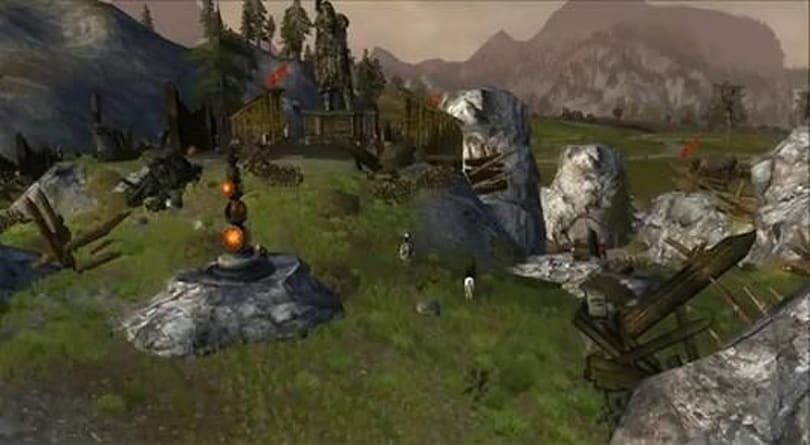 Lord of the Rings Online videos tour the landscape of Helm's Deep
