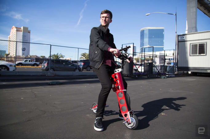 My quest to find the perfect rideable at CES