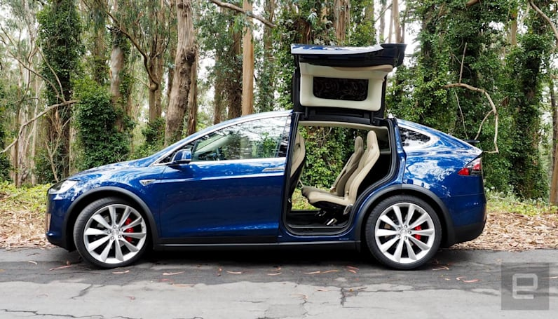 Tesla's in-car trip planning tool is available on the web