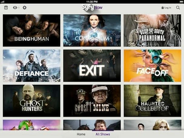 Syfy relaunches iOS apps with full episode streaming