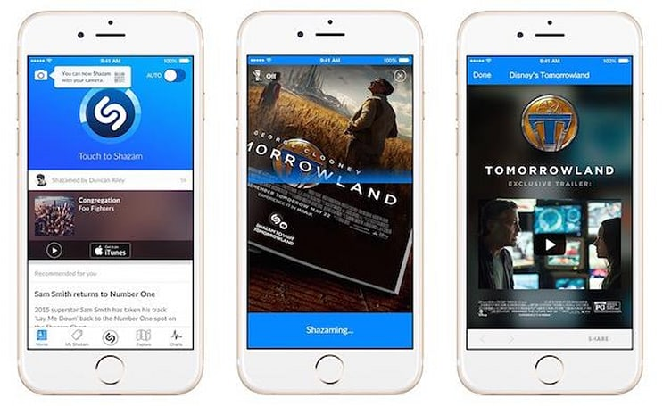 The new Shazam identifies boxed items, books and magazines