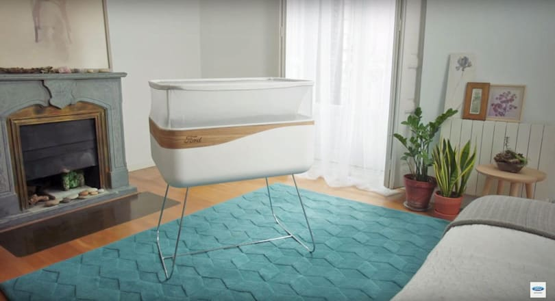 Ford's baby crib isn't a car, but it feels like one