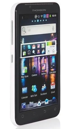 Thomson's 5.3-inch X-view 2 brings its dual-SIM capabilities, Android 4.0 to la France