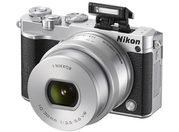 Nikon's dive into 4K starts with the 1 J5 mirrorless camera