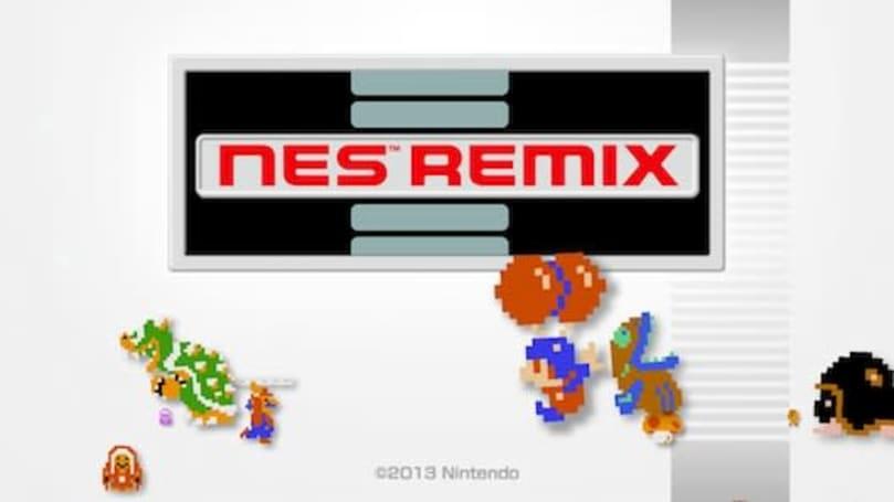 Ultimate NES Remix includes Famicom Remix, Speed Mario Bros. modes