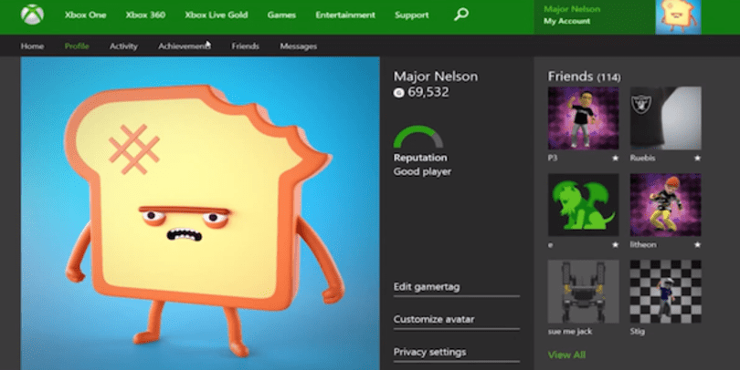 Xbox.com to support Xbox One gameplay clips, Achievements