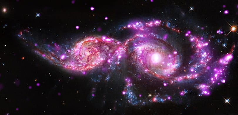 The Big Picture: Galactic collision provides amazing X-ray light show