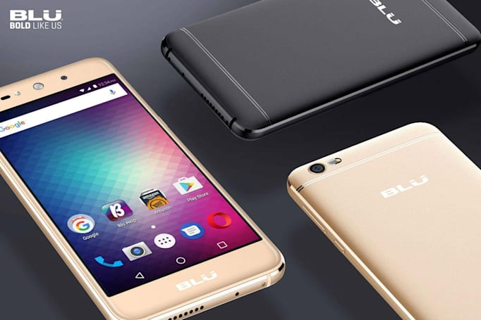 Amazon removes Blu smartphones over 'security concerns'