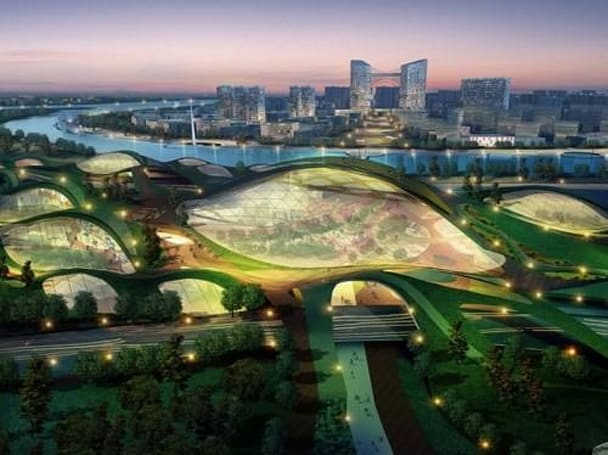 Inhabitat's Week in Green: sexy green cars, glass strong as steel, and Tianjin's Eco-City revealed