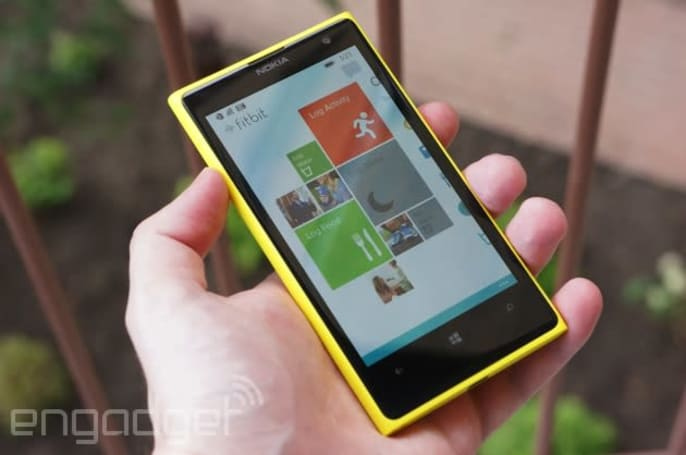 Fitbit's activity tracking app comes to Windows Phone
