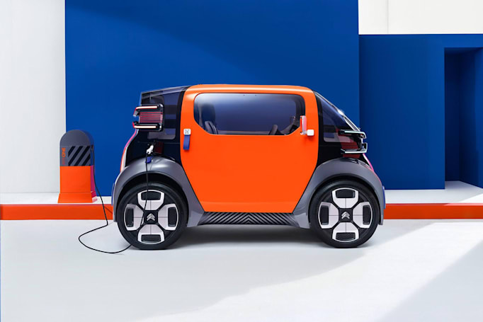 Citroen's tiny EV concept is an alternative to bikes and scooters