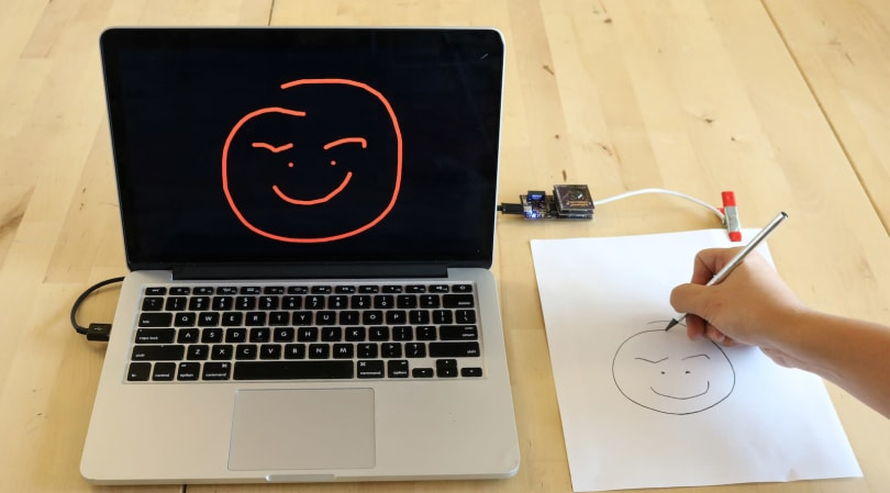 Researchers digitize writing with cheap, touch-sensitive paper