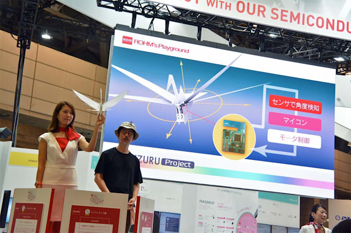 The best of CEATEC 2016: virtual tea, printed makeup, too many robots