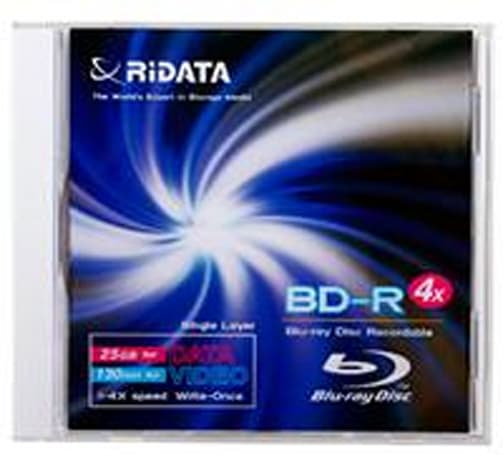 Ridata bringing 6x BD-R media to United States